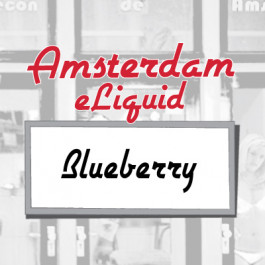 Amsterdam Blueberry e-Liquid
