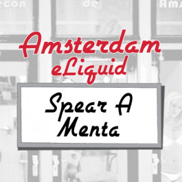 Amsterdam Spear A Menta e-Liquid