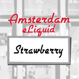 Amsterdam Strawberry e-Liquid