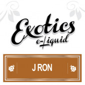 Exotics J Ron e-Liquid