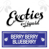 Exotics Berry Berry Blueberry e-Liquid