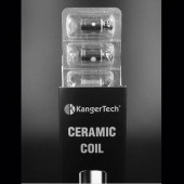 Kanger Ceramic Coil for SUBTANK Series/TOPTANK Series/NEBOX 5PCS/PACK